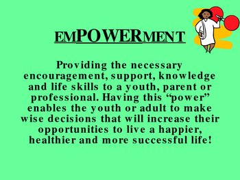 EmPOWERing Youth, Families and Professionals
