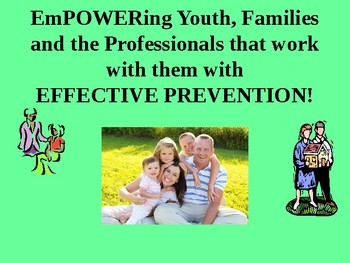 EmPOWERing Youth, Families and Professions with Effective Prevention!