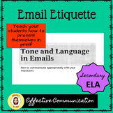 Email Etiquette: A How-To for Your Students