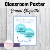 Email Etiquette Classroom Poster