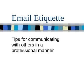 Email Etiquette: Improving Communication
