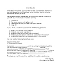 Email Etiquette Outline