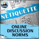 ⭐Online Discussion Etiquette Email Netiquette Norms Virtua