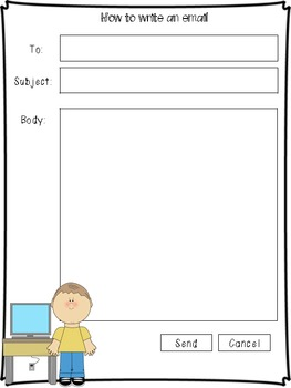 email template for kids - Email Template