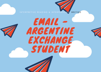Email with Argentine Exchange student