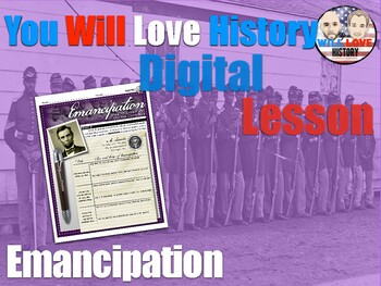 Emancipation: African Americans and the Civil War Digital Activty