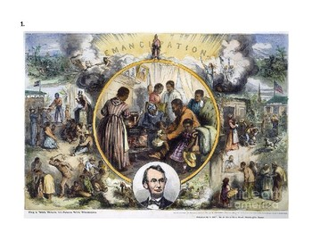 Civil War: The Emancipation Proclamation - Primary Source Image Analysis