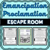 Emancipation Proclamation ESCAPE ROOM: Abraham Lincoln, Civil War