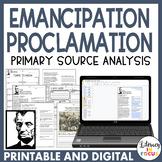 Emancipation Proclamation: Primary Source Analysis
