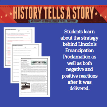 Emancipation Proclamation:  Summary and Questions