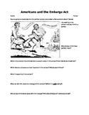 Embargo Act of 1807 Political Cartoon Interpretation- Ograbme