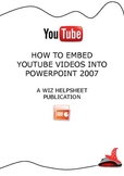 Embed Youtube into PowerPoint easy helpsheet
