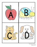 Embedded Alphabet Flashcards and Alphabet Chart #btsfresh