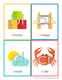 Embedded Consonant Cluster Chart and Flashcards