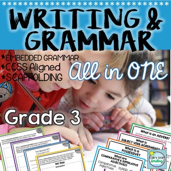 3rd Grade Grammar ~ Embedded Grammar and Writing All in One