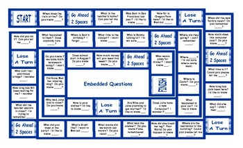 Embedded Questions Board Game