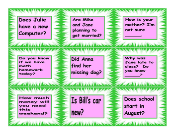 Embedded Questions Cards