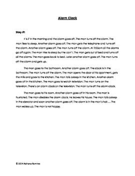 Embedded Reading + Movie Talk Alarm Clock ELL