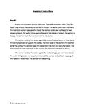 Embedded Reading + Movie Talk Breakfast Instructions ELL