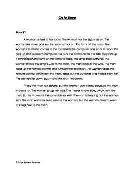 Embedded Reading + Movie Talk Go to Sleep ELL