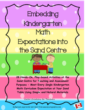 Embedding Kindergarten Math Expectations in the Sand Centre