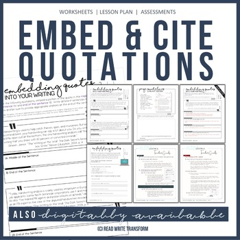 embedding quotations teach students to quote it right mla in text citation. Black Bedroom Furniture Sets. Home Design Ideas