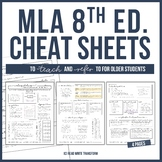[UPDATED 2019] MLA 8 Format Cheat Sheet