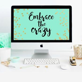 Embrace the Crazy-Mint Desktop