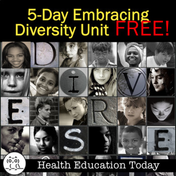 Diversity Lessons FREE! Help Students Embrace Diversity!