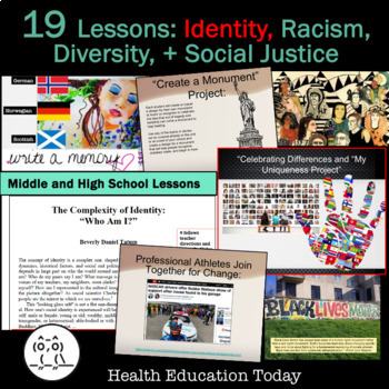 2-Week Cultural Diversity Unit: Identity, Racism, and Social Justice Reform