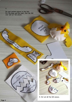 Embrel Chick instruction and pattern