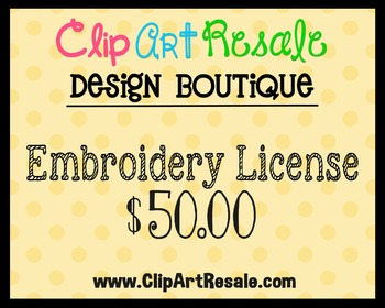 Embroidery License - Bonus Offer