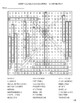 Embryological Development Word Search!