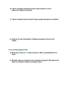 E=mc2 by David Bodanis Student Reading Guide