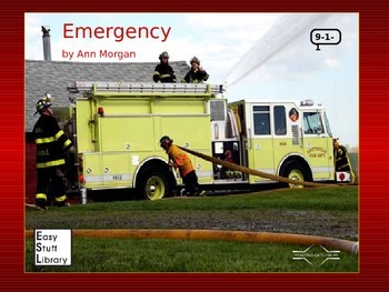 Emergency 9-1-1 by Ann Morgan, Starting Gate   ESOL, fire safety