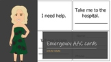 Emergency AAC Book - What you need to know about me!
