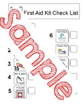Emergency Bag Checklist