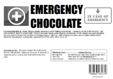 Emergency Chocolate Wrapper