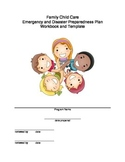 Emergency & Disaster Preparedness Plan - Family Child Care
