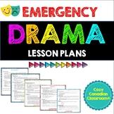 Emergency Drama Lessons