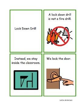 Emergency Drills- fire, tornado, earthquake, intruder NOT