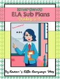 Emergency ELA Sub Plans: Grades 6-8