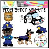 Emergency Helpers Clip Art