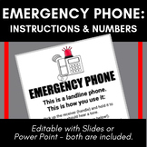 Emergency (Landline) Phone: How To Use, and Numbers to Call