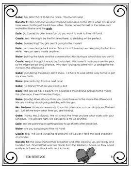 ELA Emergency Sub Plans for Grades 4-8 Set #2