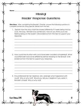 ELA Emergency Sub Plans for Grades 4-8 Set #3