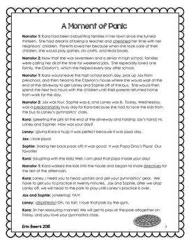 ELA Emergency Sub Plans for Grades 4-8 Set #6