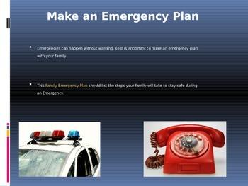 Emergency Preparedness Presentation (editable)