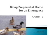 Emergency Preparedness at Home - Grades 5 -6