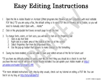 Emergency Procedures Flip Book (Editable Flipbook)